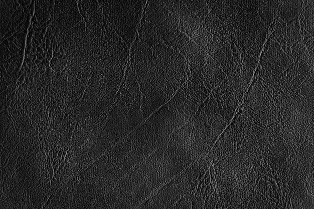 Fundo e textura de couro preto
