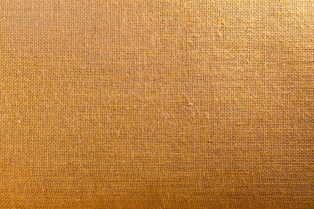 Fundo e textura de pano de saco marrom natural