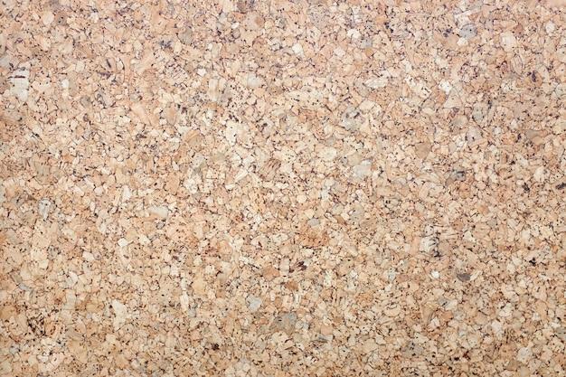 Fundo e textura de superfície de madeira de placa de cortiça