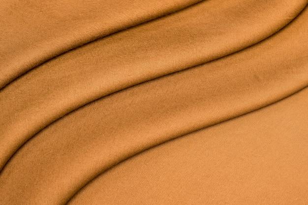Fundo e textura de tecido amassado.