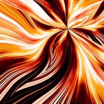Fundo elegante de flor de fogo abstrato para seu design de arte