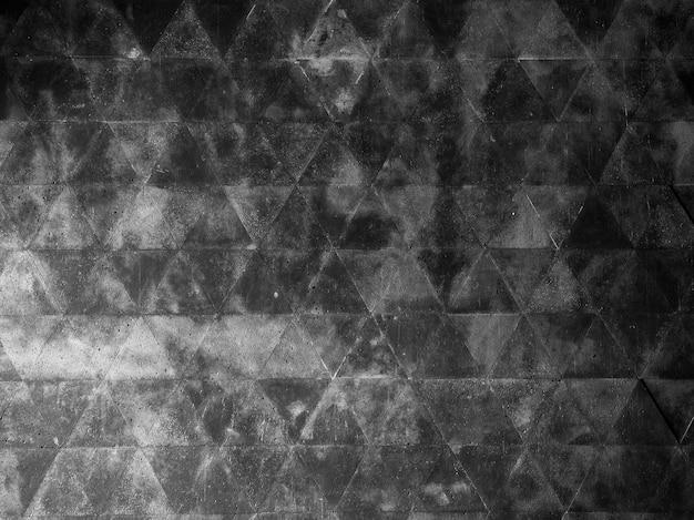 Fundo escuro da parede geométrica do grunge