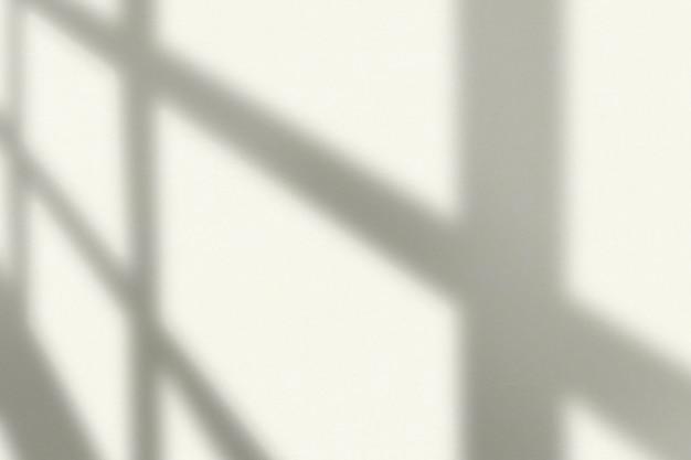 Fundo estético com sombra de janela durante a hora dourada