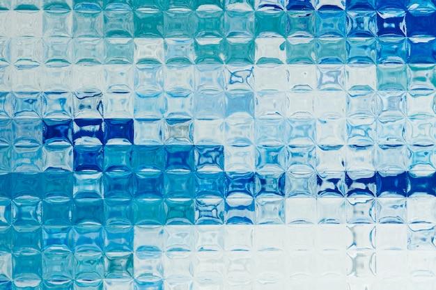 Fundo estético com textura de vidro estampado