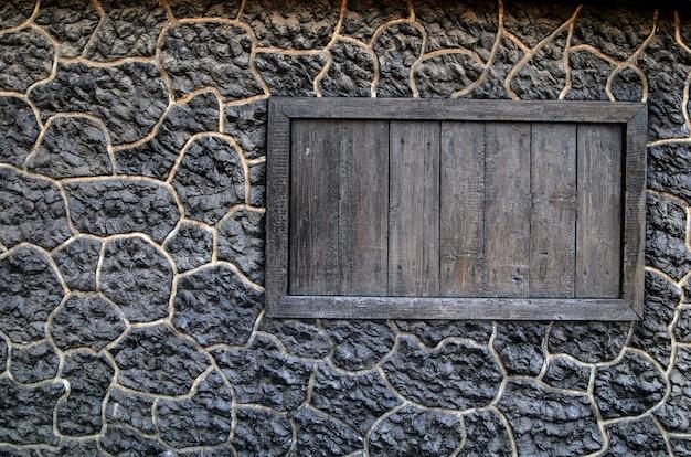 Fundo feito de parede de pedra.