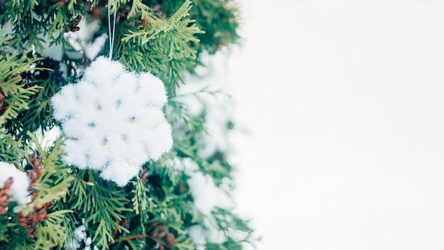 Fundo festivo de férias de inverno de natal
