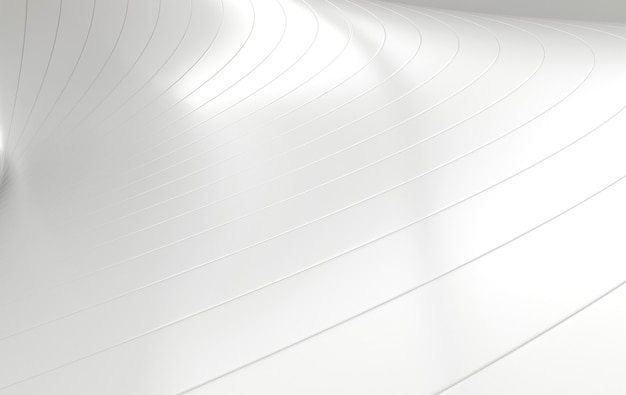 Fundo futurista de ondas brancas