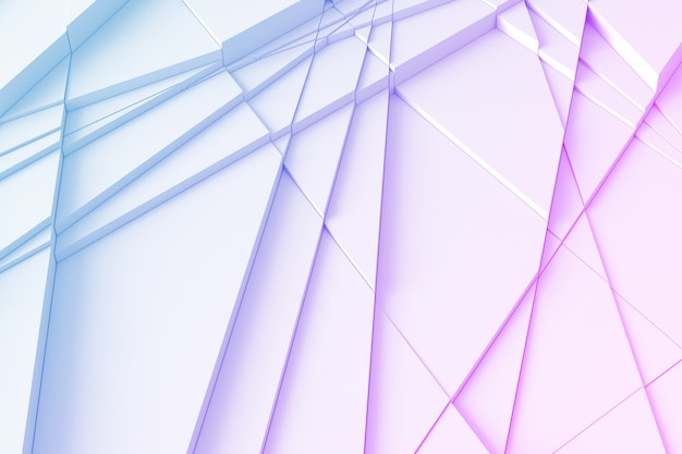 Fundo geométrico com linhas