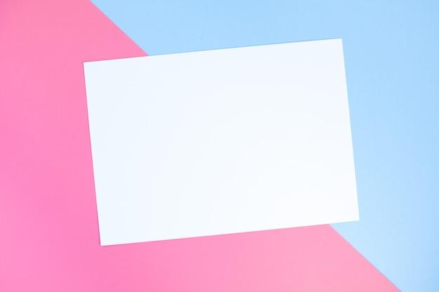 Fundo geométrico de papel de cor pastel