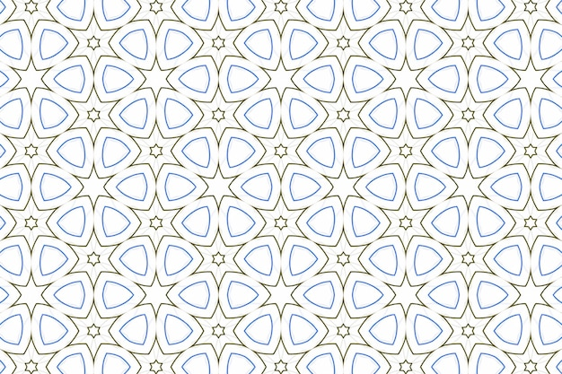 Fundo geométrico simétrico de luz simples para design e decoração. formas de repetição de padrões para o fundo branco do site