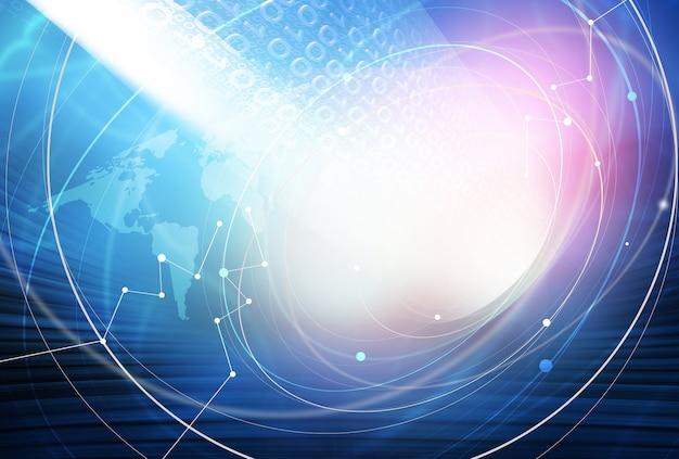 Fundo global de conexão com a internet