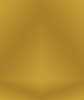 Fundo gradiente abstrato de luxo amarelo dourado