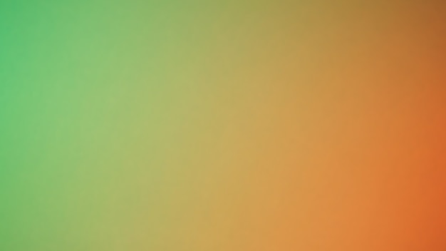 Fundo gradiente borrado abstrato. multi cor de fundo de cor verde e laranja amarelo. modelo de banner.