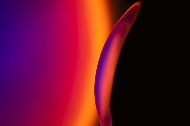 Fundo gradiente com efeito de luz colorida