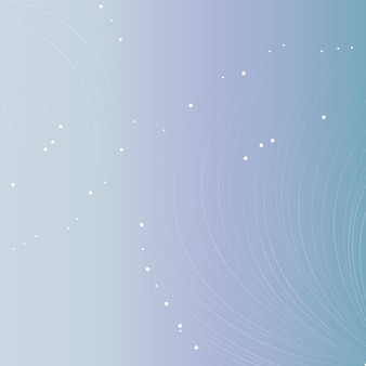 Fundo gradiente futurista com linhas de partículas brancas