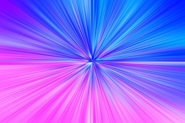 Fundo hd de ilustração de explosão de teletransporte do espaço rosa e azul