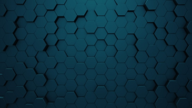 Fundo hexagonal