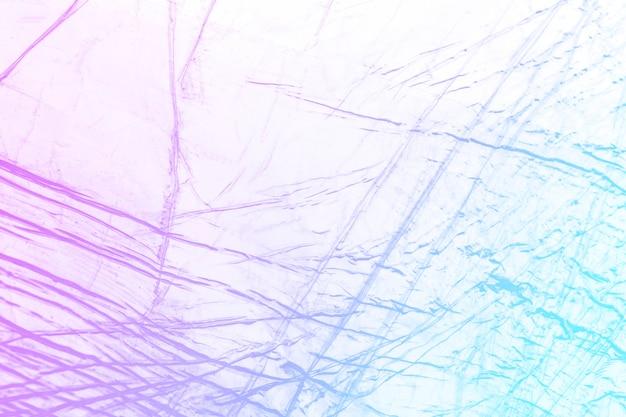 Fundo holográfico de textura de plástico