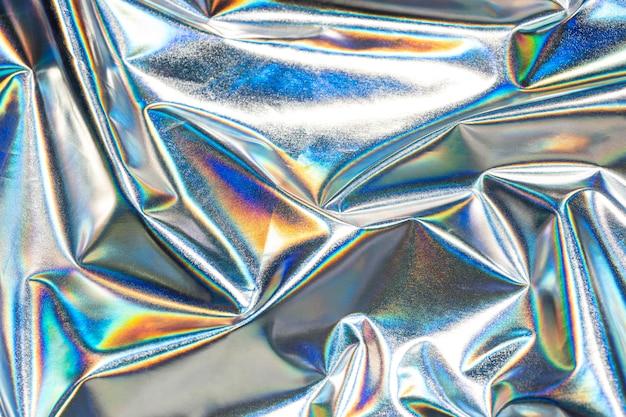 Fundo holográfico metálico Foto gratuita