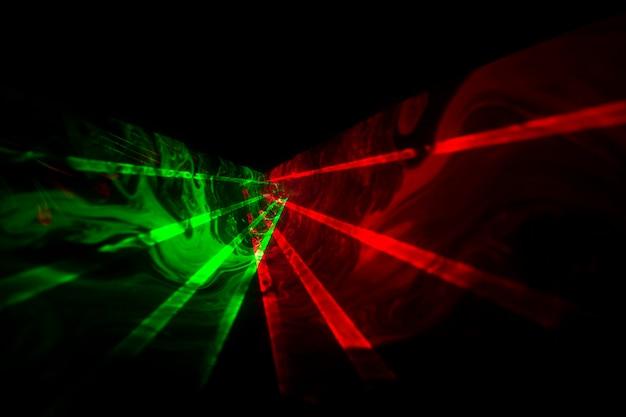 Fundo horizontal de laser óptico