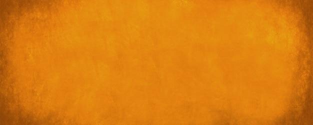 Fundo horizontal largo dourado e laranja