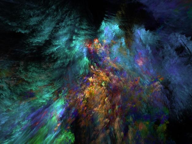 Fundo imaginativo fractal