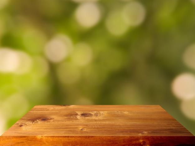 Fundo interior de tampo de mesa de prancha de madeira de luxo premium