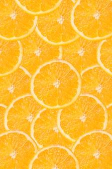 Fundo laranja fatiado