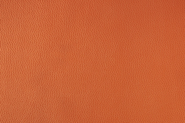 Fundo laranja texturizado de couro fino