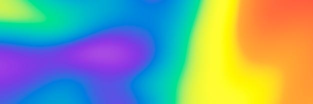 Fundo lgbtq de cor do arco-íris gradiente borrado abstrato