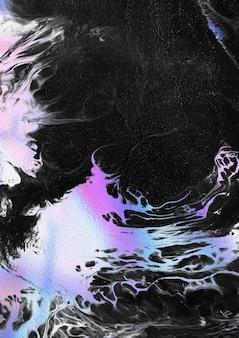 Fundo líquido colorido de néon vibrante