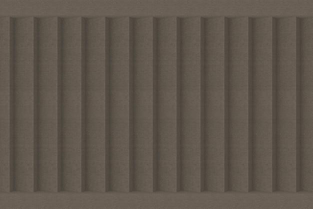 Fundo luxuoso da parede do teste padrão do painel do marrom escuro. Foto Premium