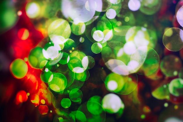 Fundo mágico vintage com cor de fundo festivo com bokeh natural e luzes douradas brilhantes.