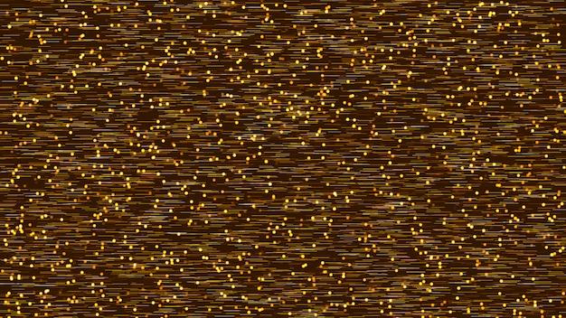 Fundo marrom abstrato com muitas partículas