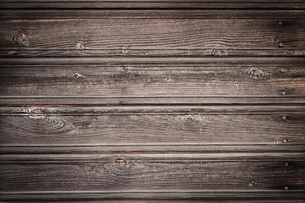 Fundo marrom com textura de madeira envelhecida