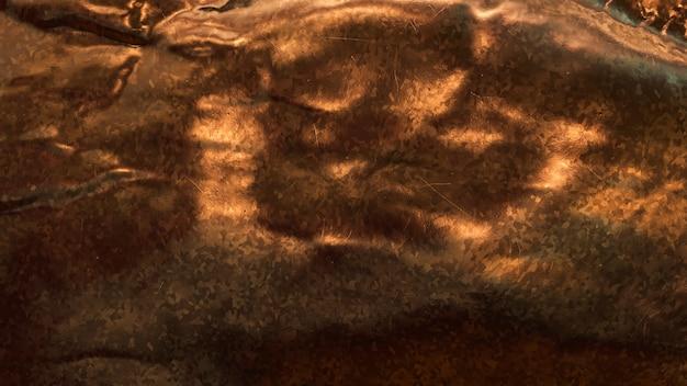 Fundo metálico de cobre rústico