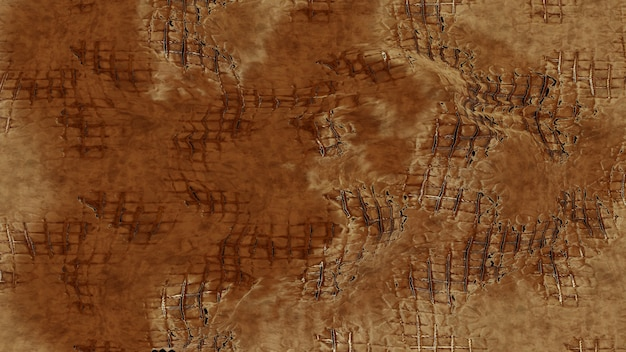 Fundo metálico de textura dourada