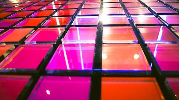 Fundo moderno, fundo de vidro multicolorido abstrato