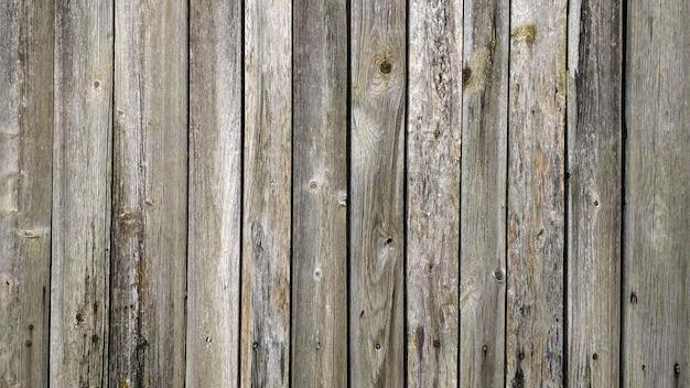 Fundo na forma de uma superfície de madeira de uma parede ou cerca