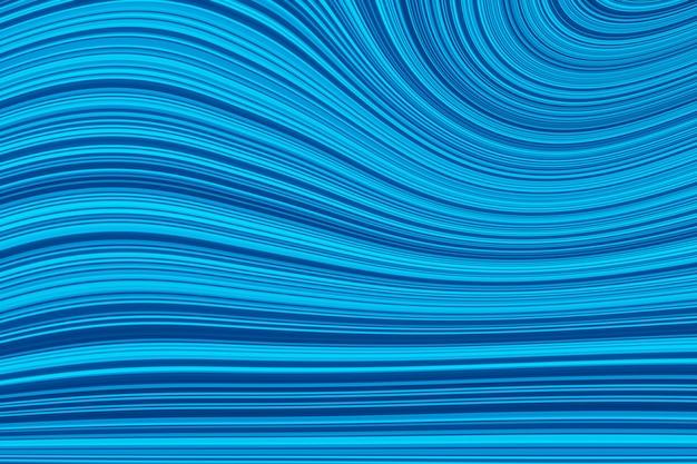 Fundo ondulado colorido. a imagem futurista abstrata do fractal, raias acena o fundo. ilustração 3d, renderização em 3d.