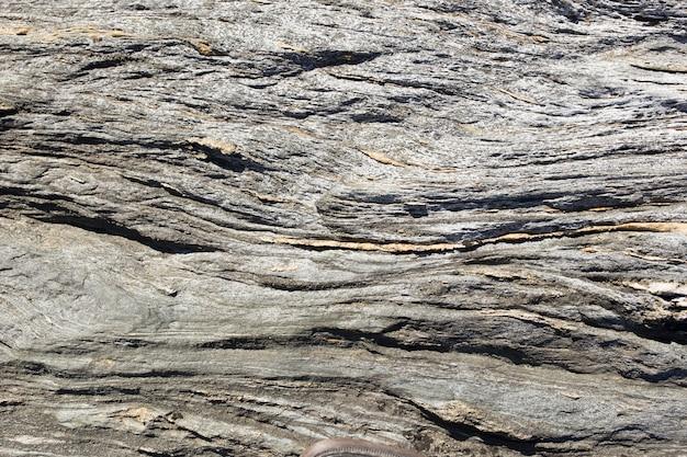Fundo ondulado da rocha
