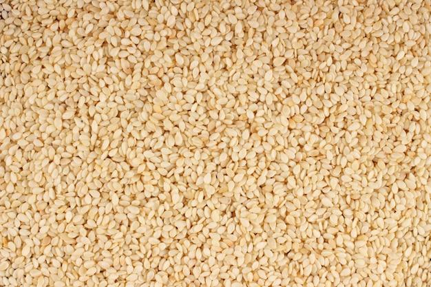 Fundo ou textura de sementes de gergelim
