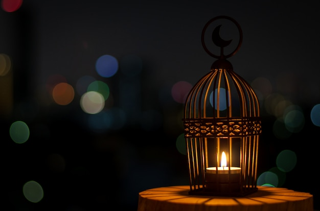 Fundo para a festa muçulmana do mês sagrado do ramadã kareem.