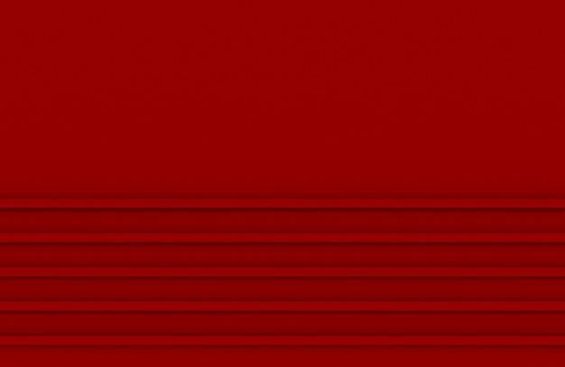 Fundo paralelo da parede do teste padrão do painel horizontal da cor vermelha.