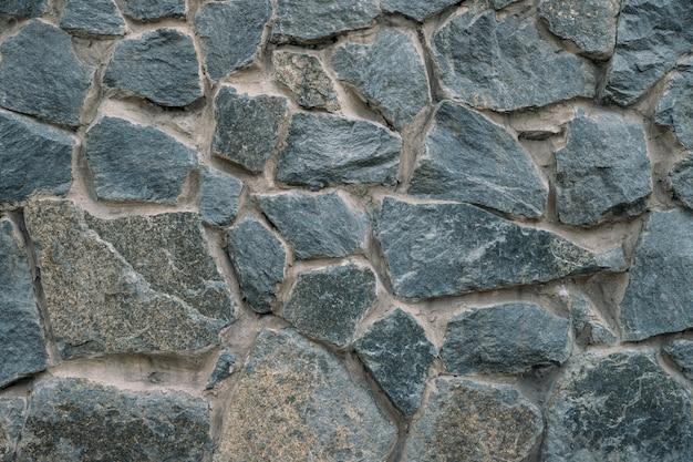 Fundo parede de pedra. muro feito de pedras.
