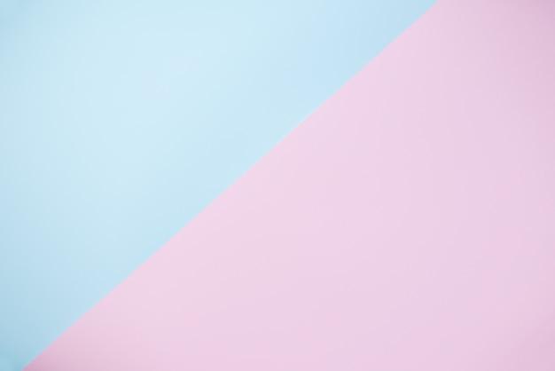 Fundo pastel abstrato com cor rosa azul