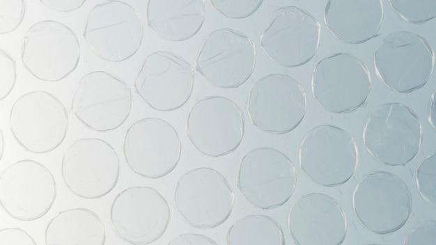 Fundo plástico bolha