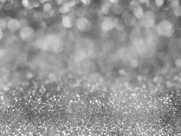 Fundo preto abstrato glitter com bokeh.