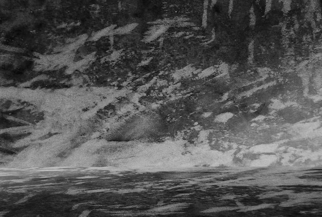 Fundo preto antigo. textura do grunge. papel de parede escuro. betão de quadro negro.