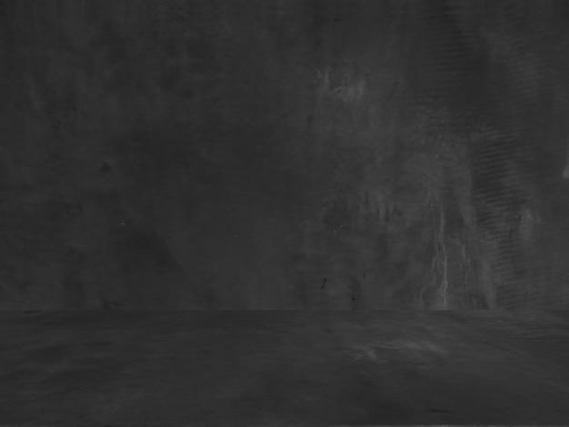 Fundo preto antigo. textura do grunge. papel de parede escuro. quadro-negro. quadro-negro. concreto.